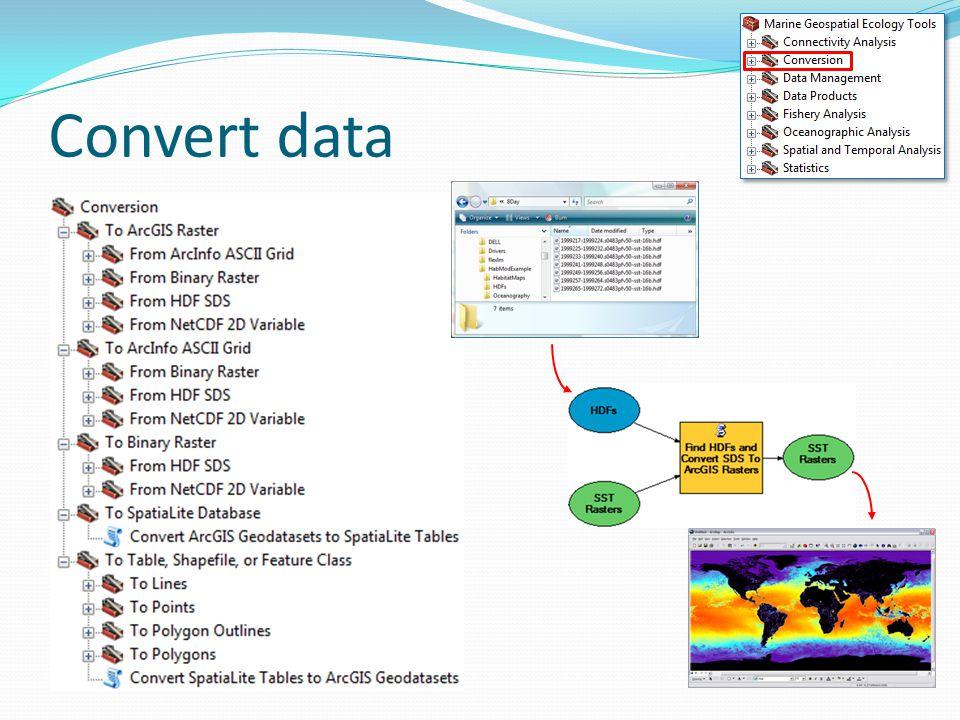 Convert data