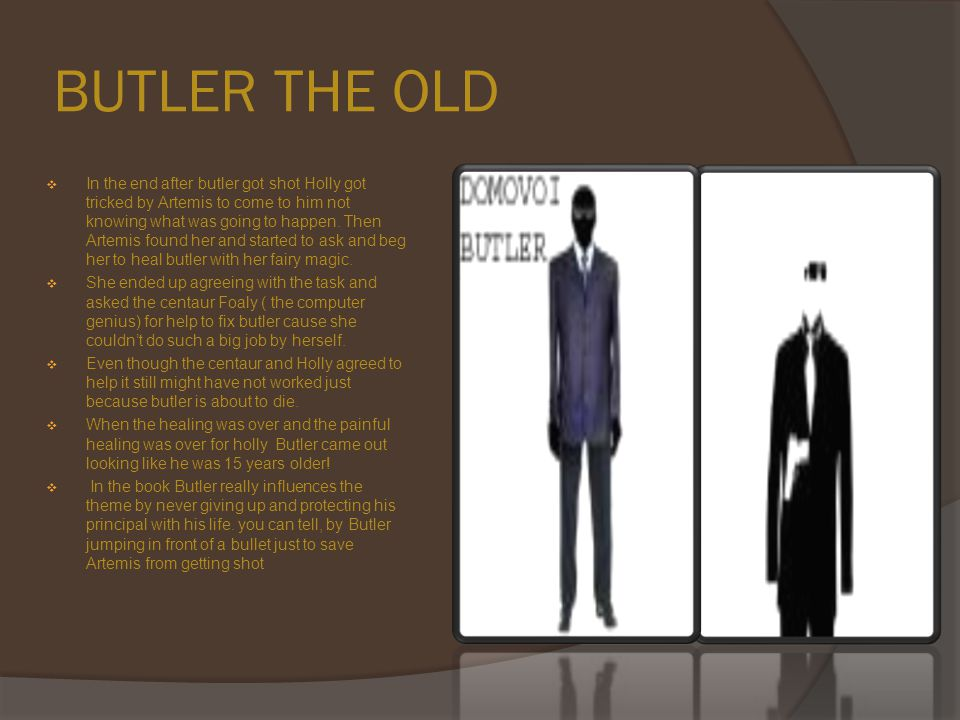 BUTLER THE OLD