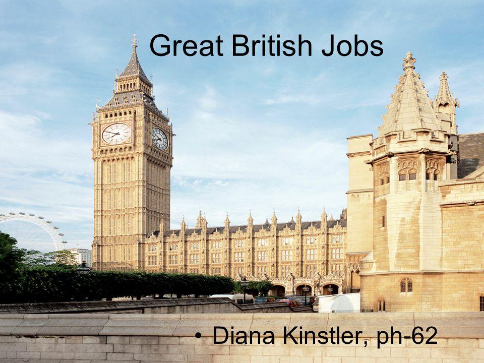 Great British Jobs Diana Kinstler, ph-62