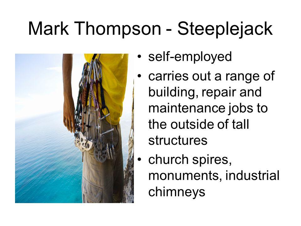 Mark Thompson - Steeplejack