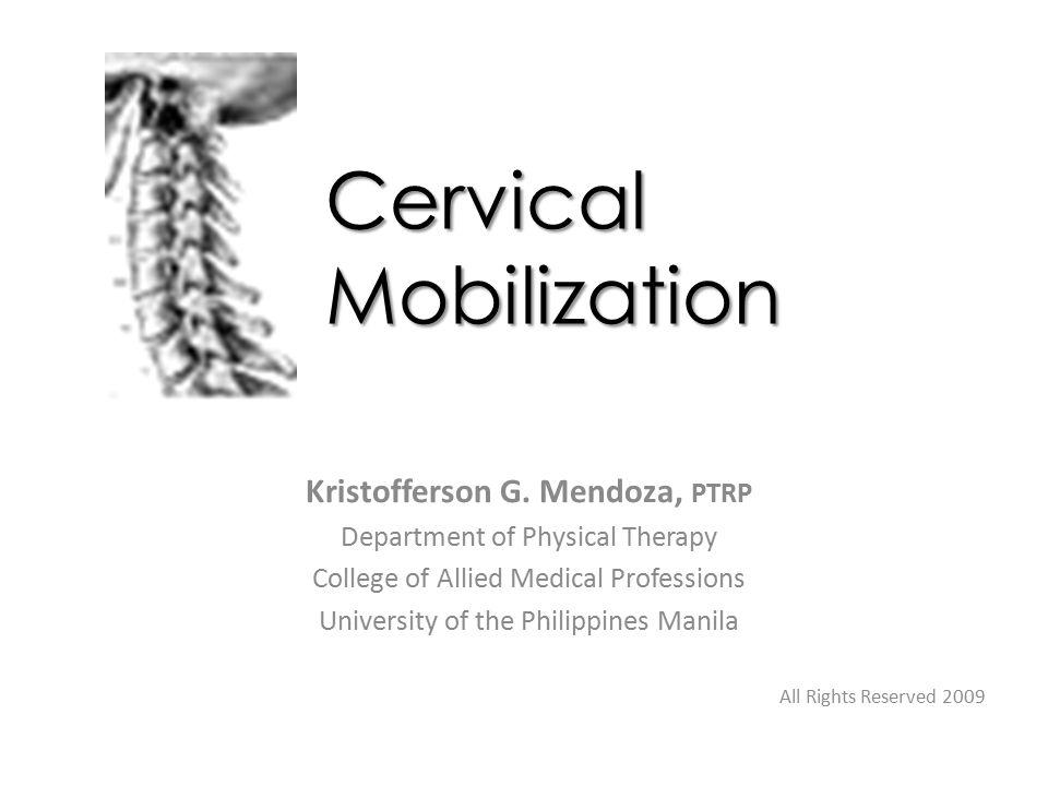 Cervical Mobilization