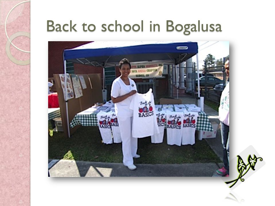 Back to school in Bogalusa