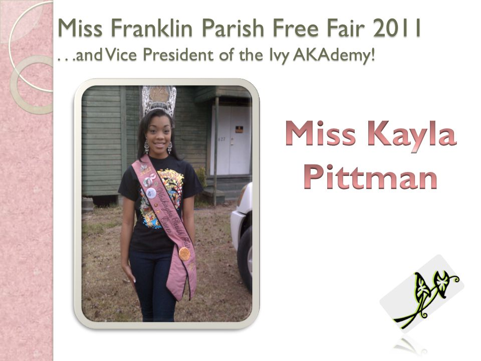 Miss Franklin Parish Free Fair 2011