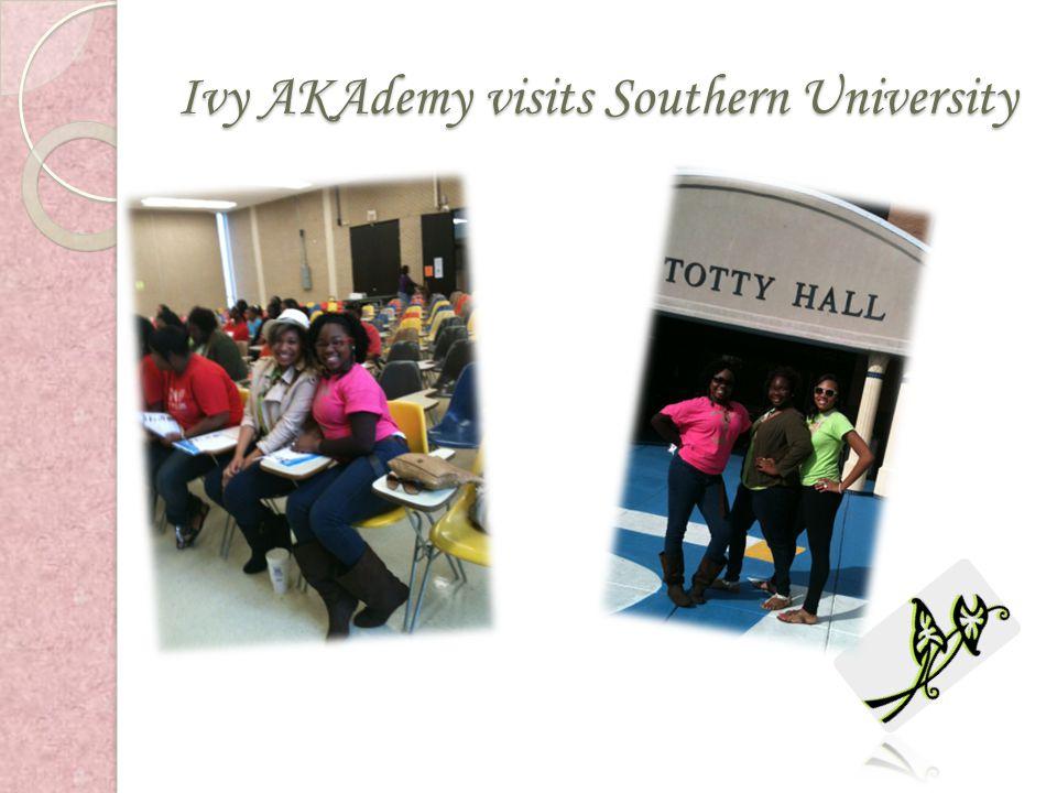 Ivy AKAdemy visits Southern University