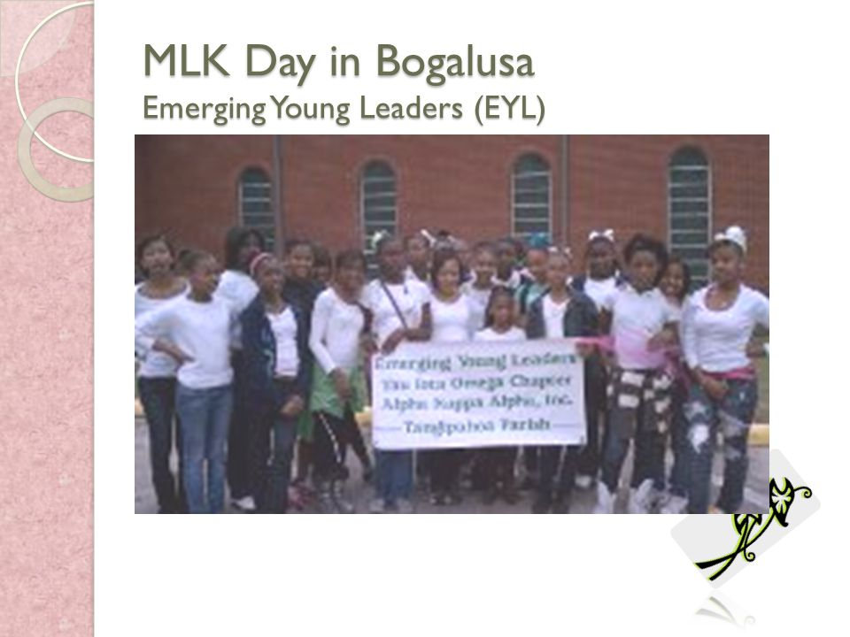 MLK Day in Bogalusa Emerging Young Leaders (EYL)