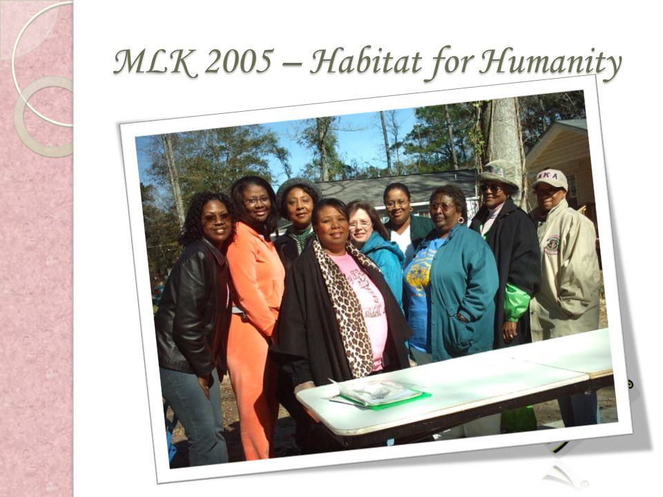 MLK 2005 – Habitat for Humanity
