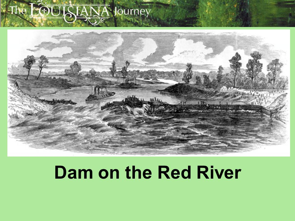 Dam on the Red River