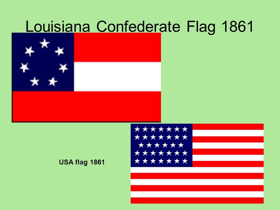 Louisiana Confederate Flag 1861