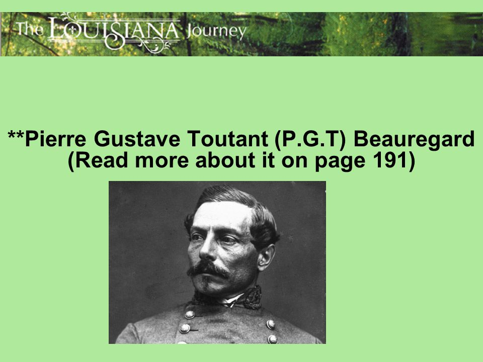 Pierre Gustave Toutant (P. G
