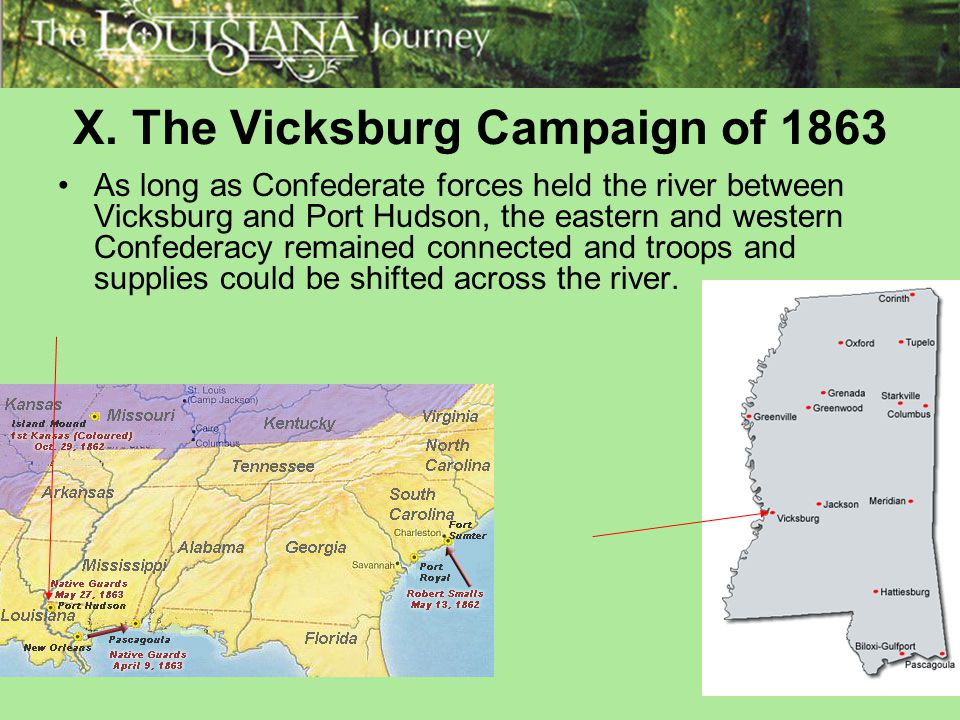 X. The Vicksburg Campaign of 1863
