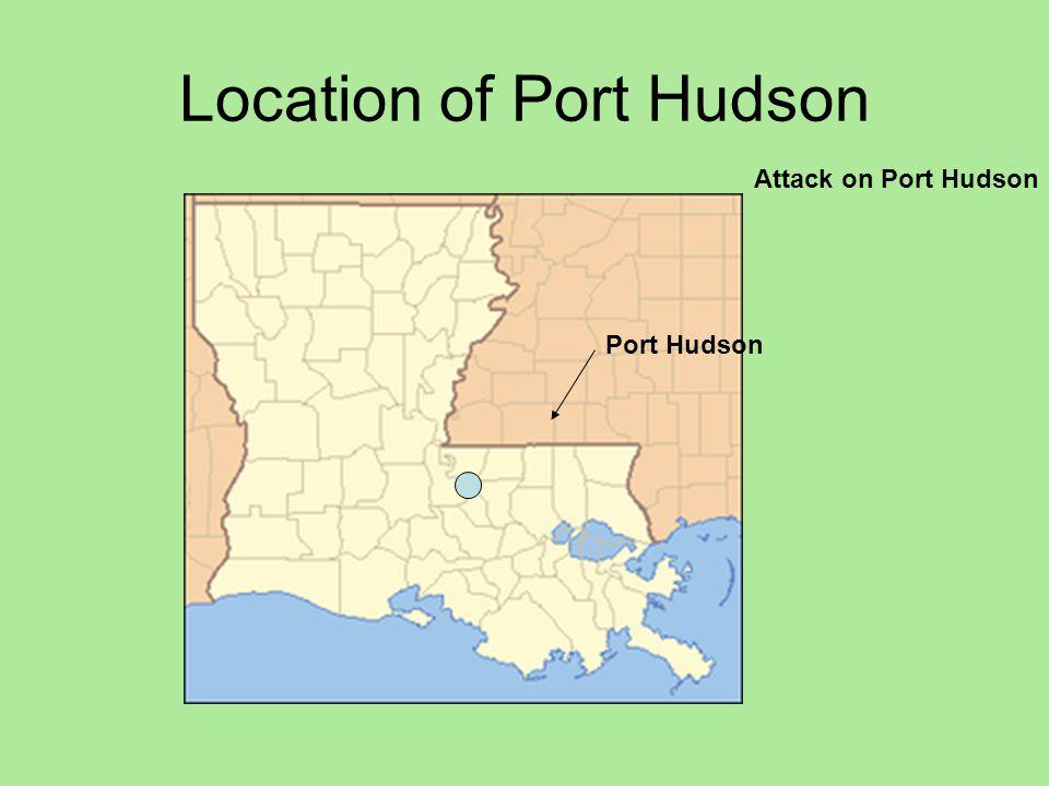 Location of Port Hudson