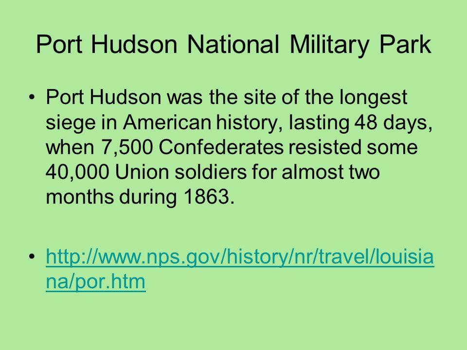 Port Hudson National Military Park