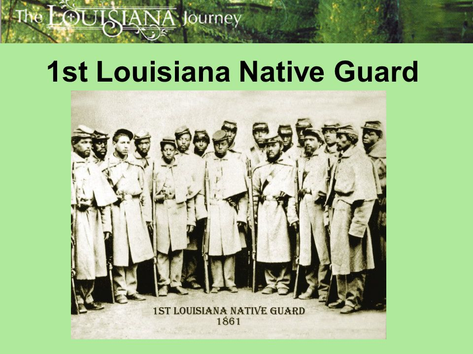1st Louisiana Native Guard