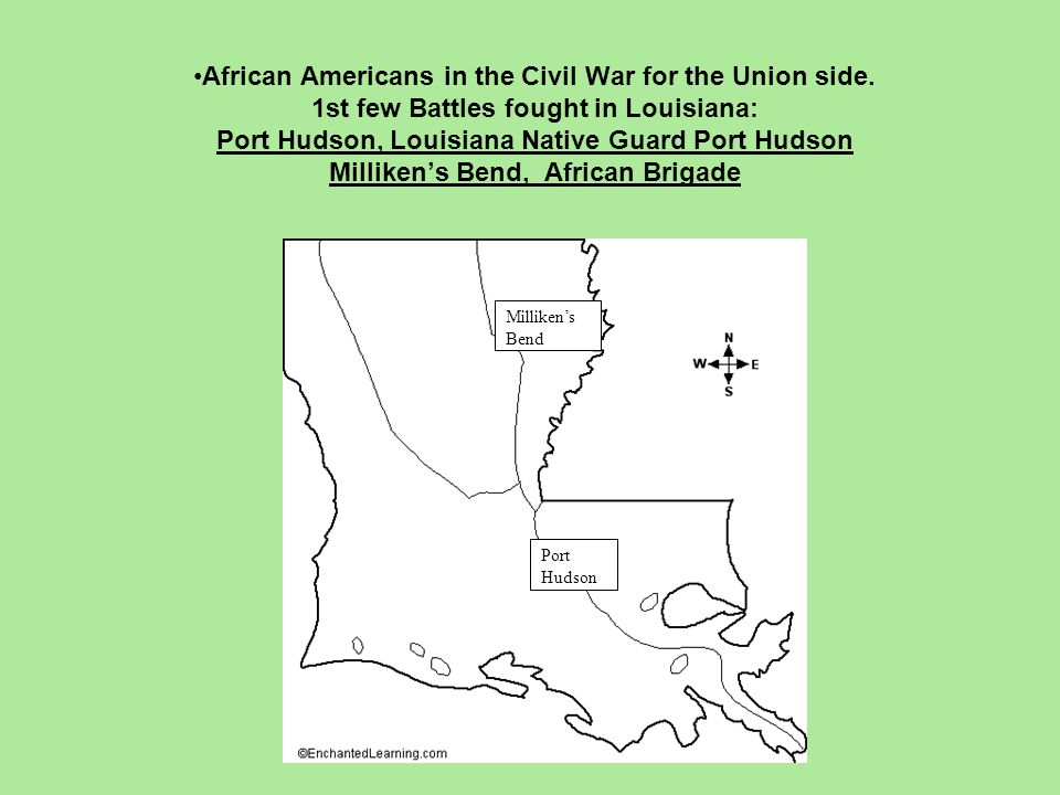 African Americans in the Civil War for the Union side