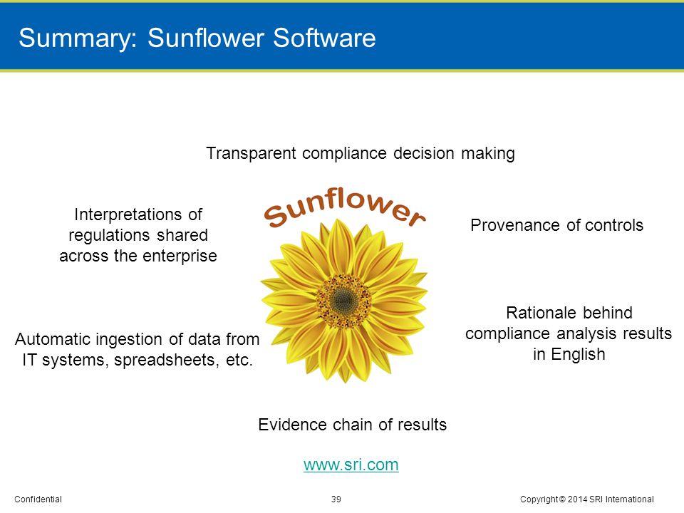 Summary: Sunflower Software