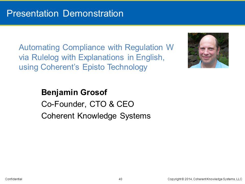 Presentation Demonstration