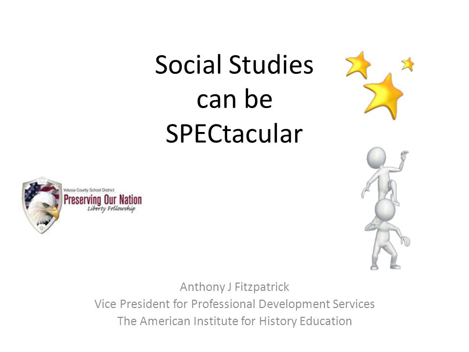 Social Studies can be SPECtacular