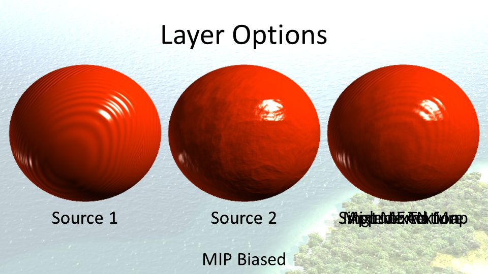 Layer Options Source 1 Source 1 Source 2 Source 2 Mixed