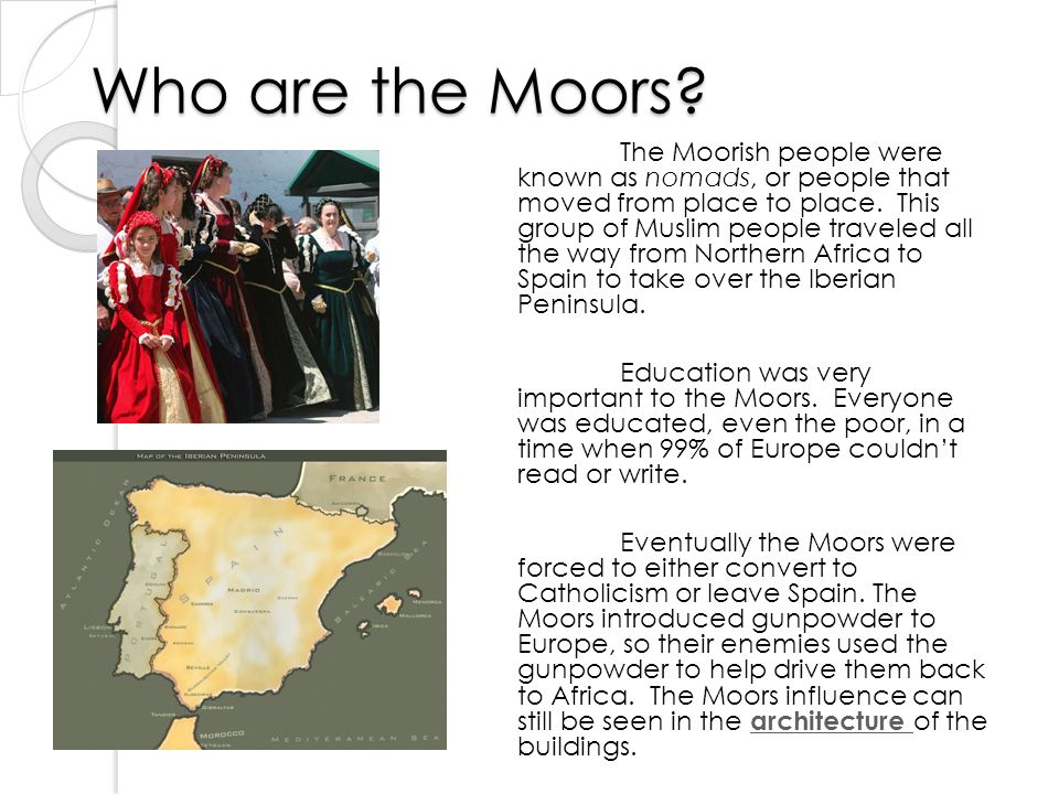 Who are the Moors