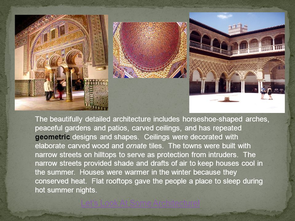 Let s Look At Some Architecture!