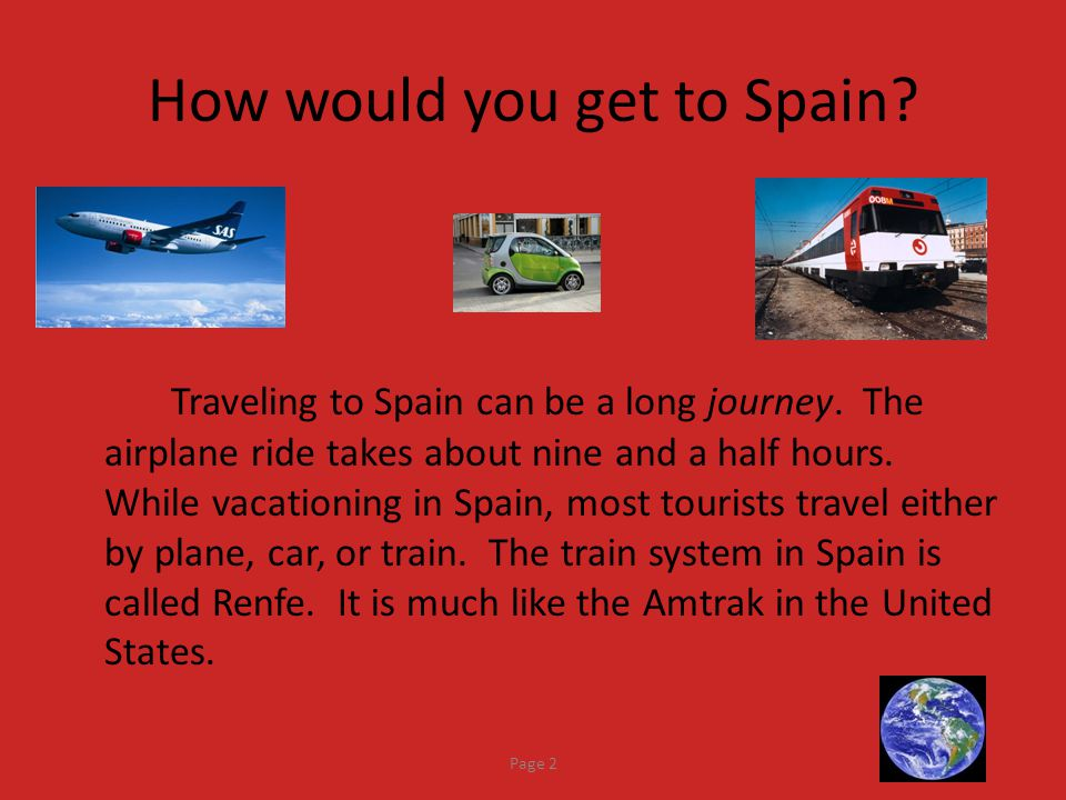 How would you get to Spain