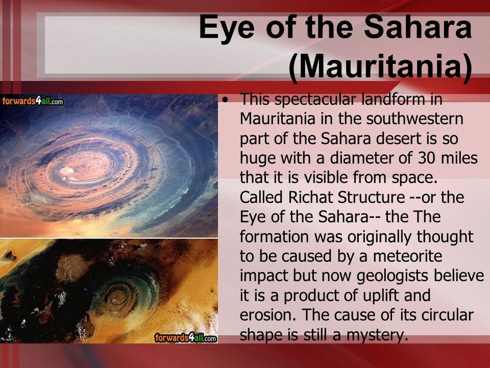 Eye of the Sahara (Mauritania)