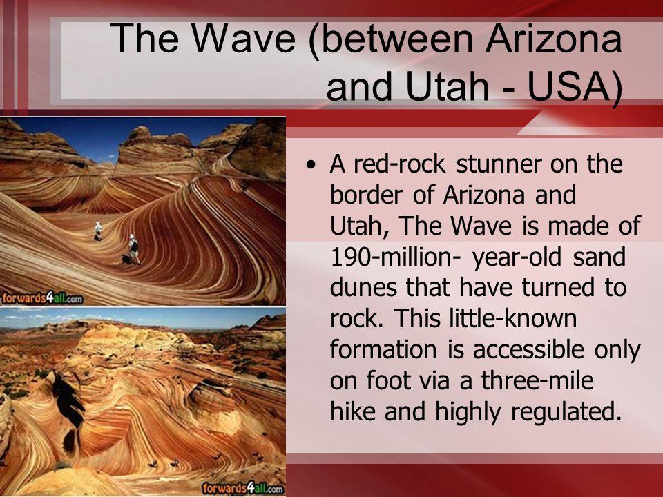 The Wave (between Arizona and Utah - USA)