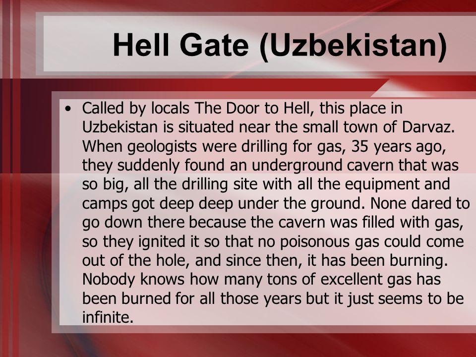 Hell Gate (Uzbekistan)