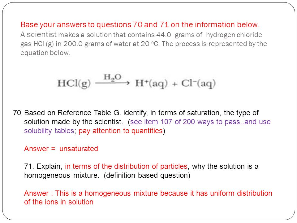 Base your answers to questions 70 and 71 on the information below