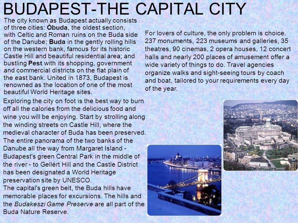 BUDAPEST-THE CAPITAL CITY