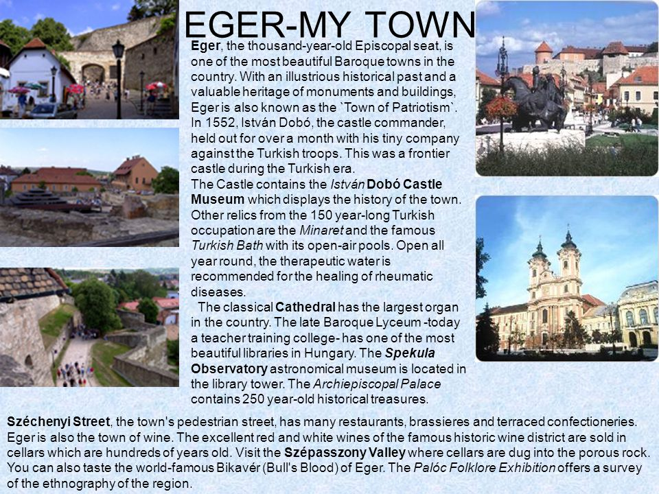 EGER-MY TOWN