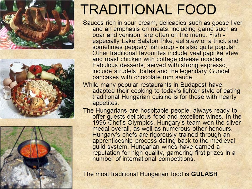 TRADITIONAL FOOD