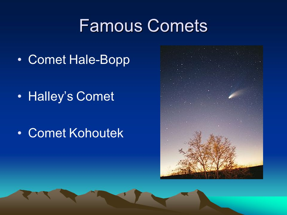 famous asteroids and comets - photo #41