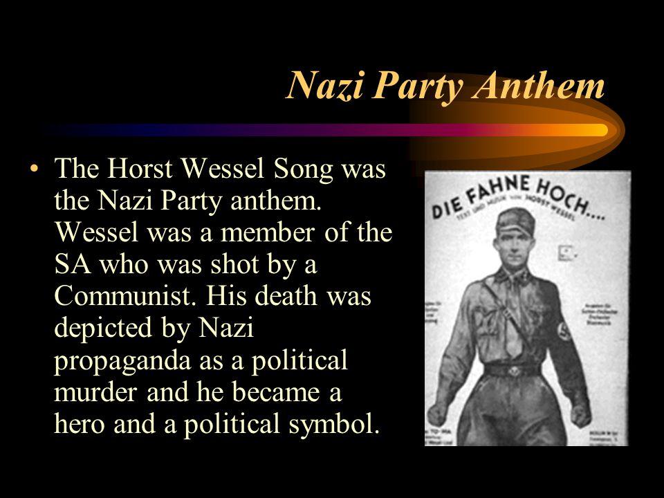 Nazi Party Anthem