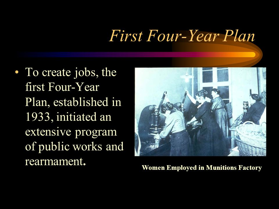 Women Employed in Munitions Factory