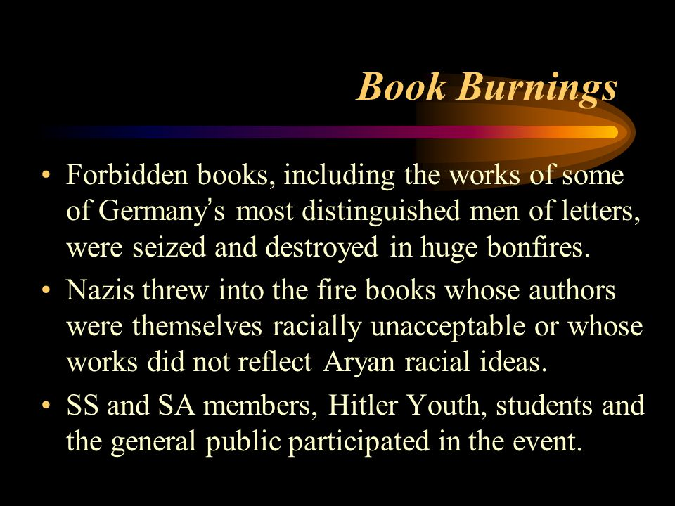 Book Burnings