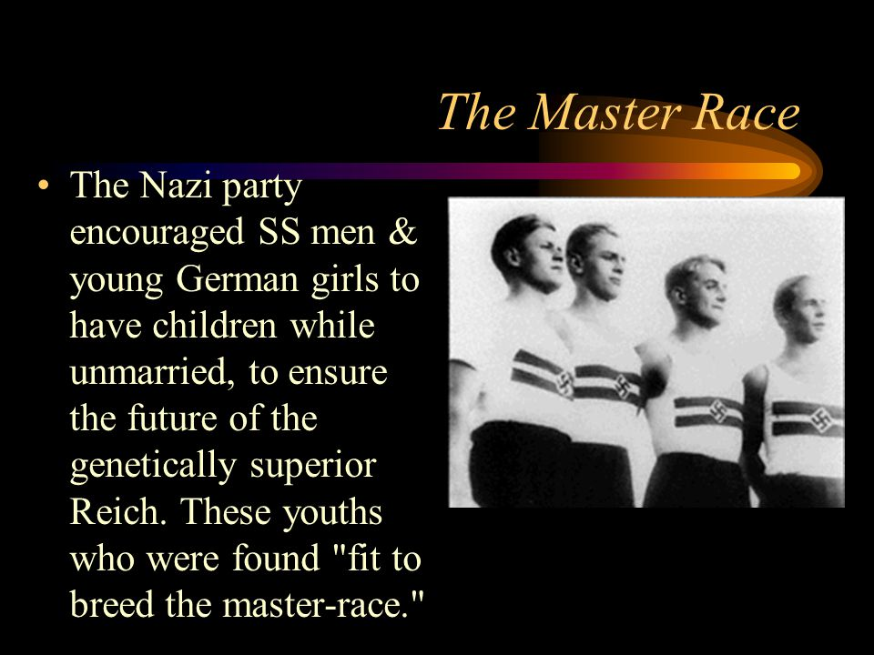 The Master Race
