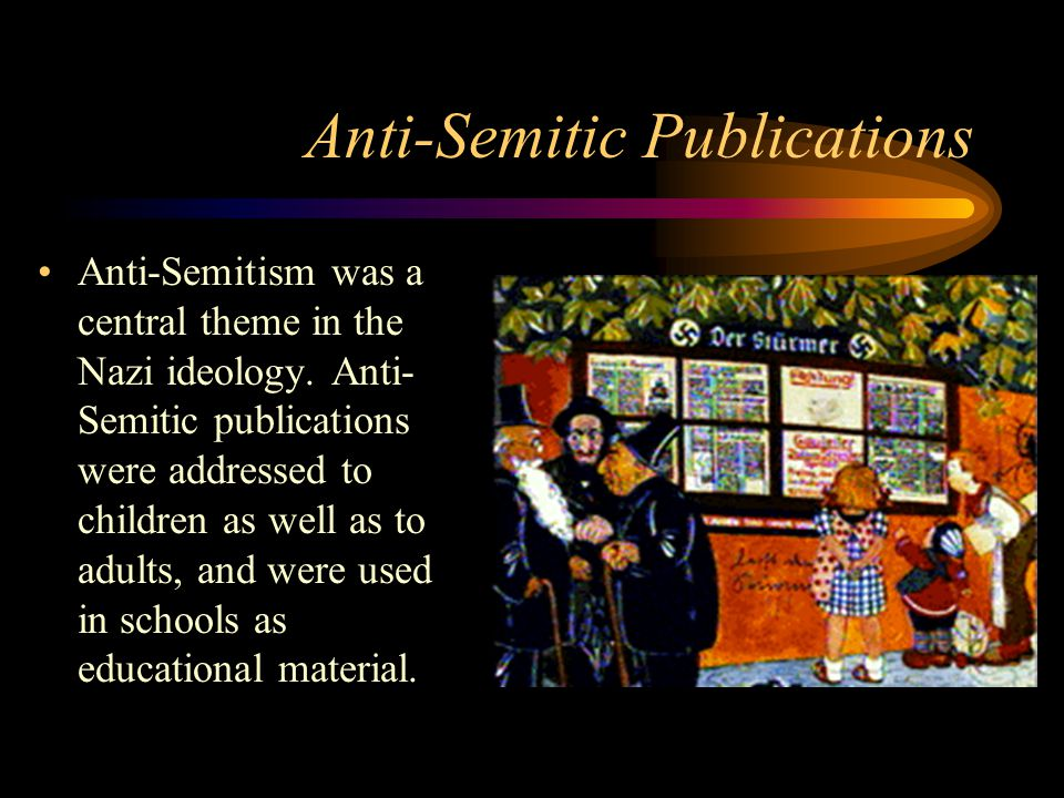 Anti-Semitic Publications