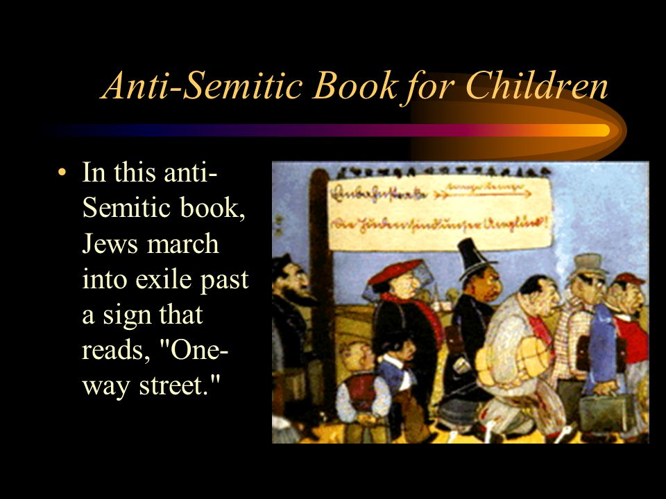Anti-Semitic Book for Children