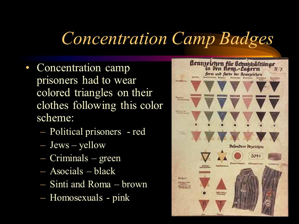 Concentration Camp Badges