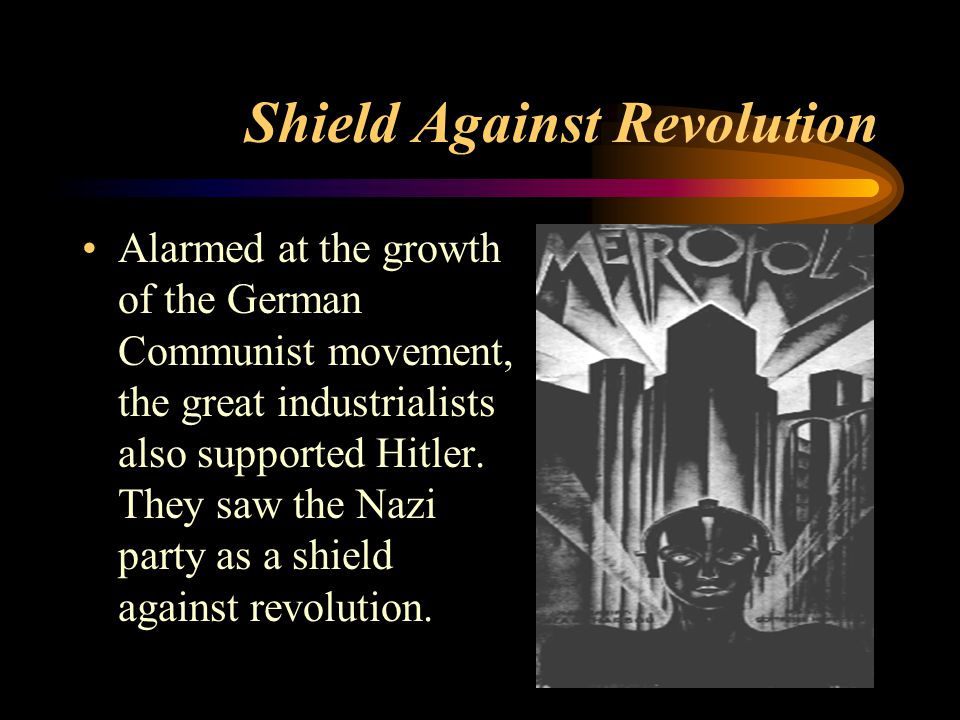 Shield Against Revolution