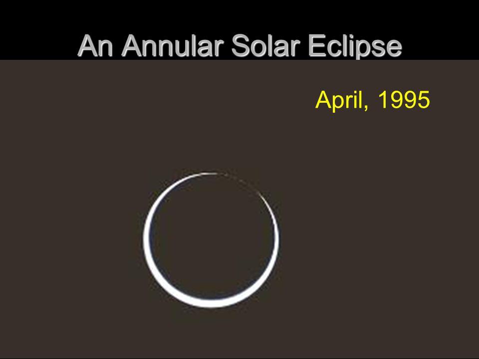 An Annular Solar Eclipse