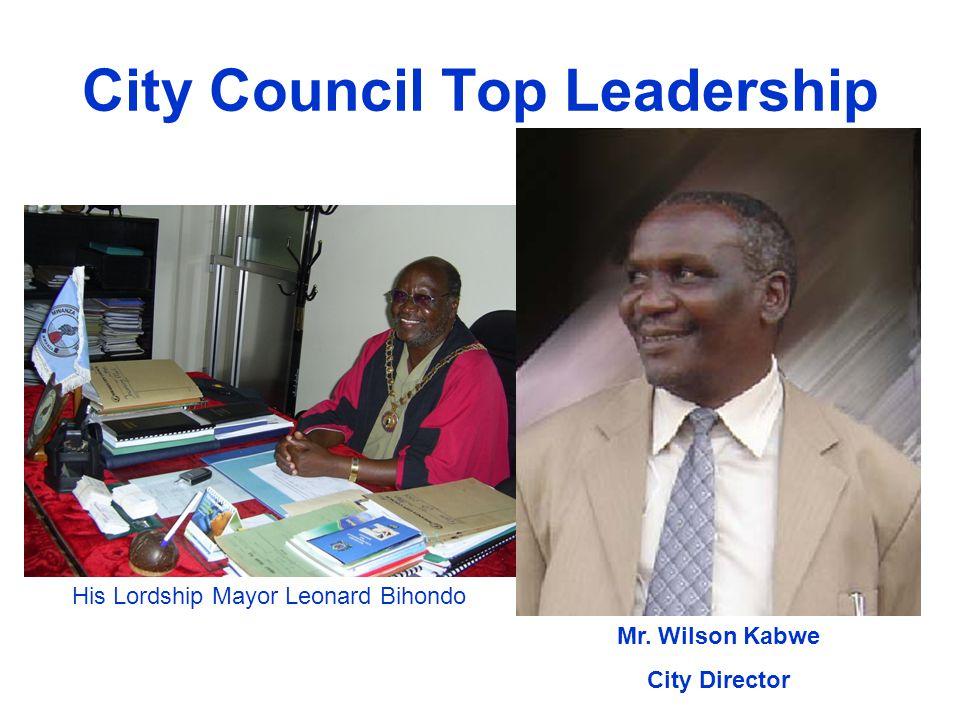 City Council Top Leadership