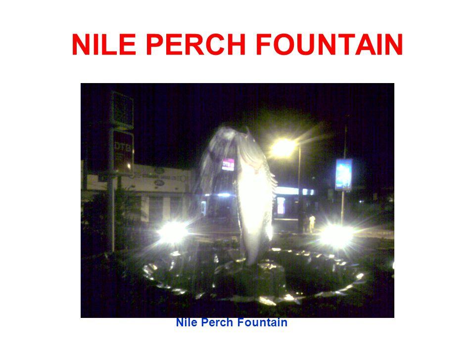 NILE PERCH FOUNTAIN Nile Perch Fountain