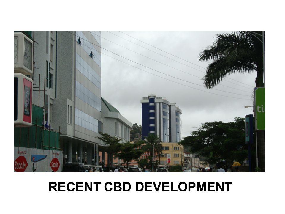 RECENT CBD DEVELOPMENT