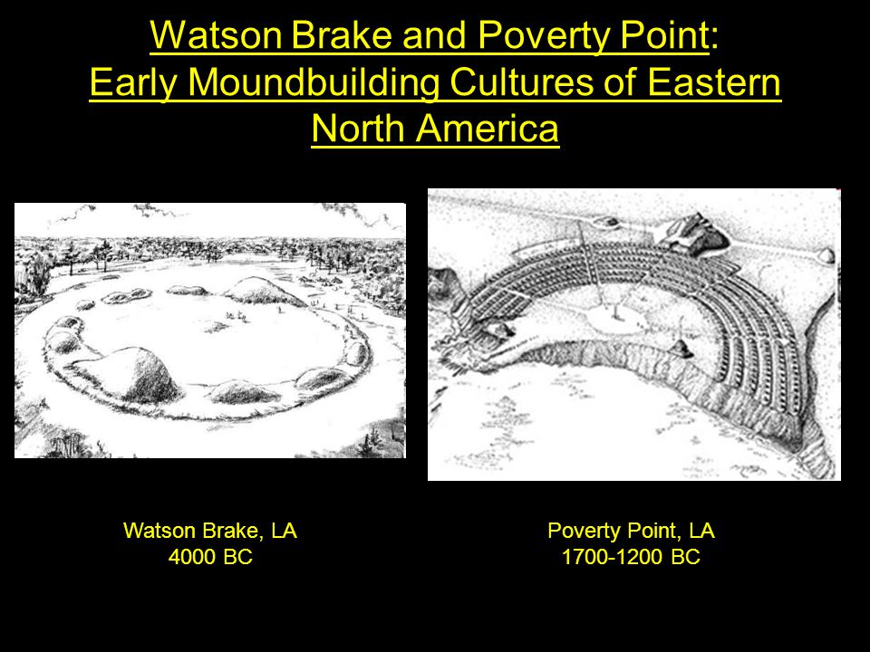 Watson Brake and Poverty Point: Early Moundbuilding Cultures of Eastern North America