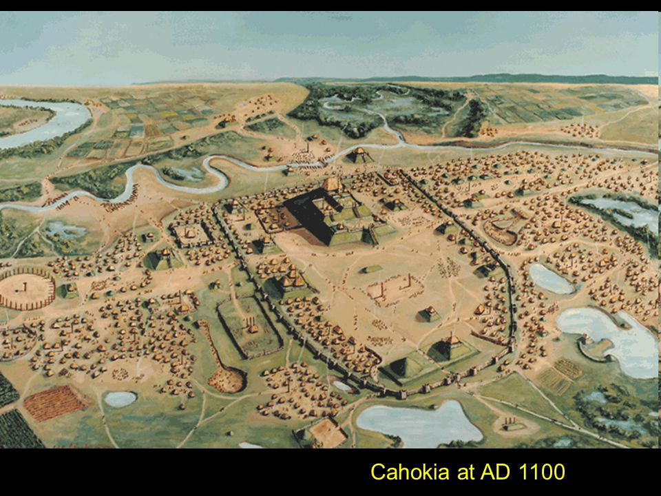 Cahokia at AD 1100