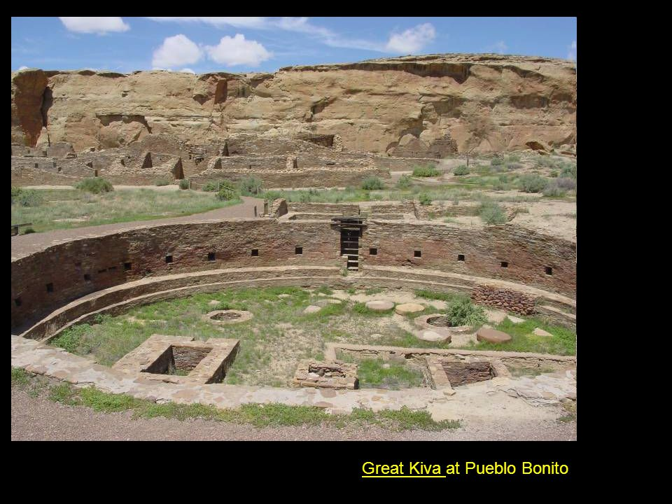 Great Kiva at Pueblo Bonito