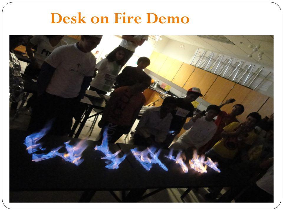 Desk on Fire Demo