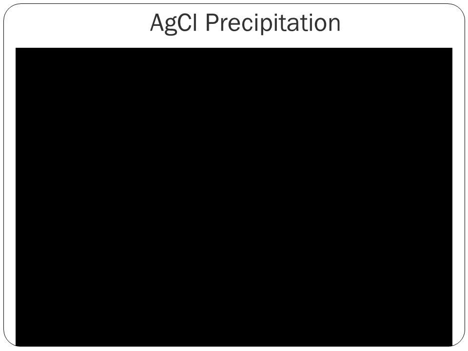AgCl Precipitation